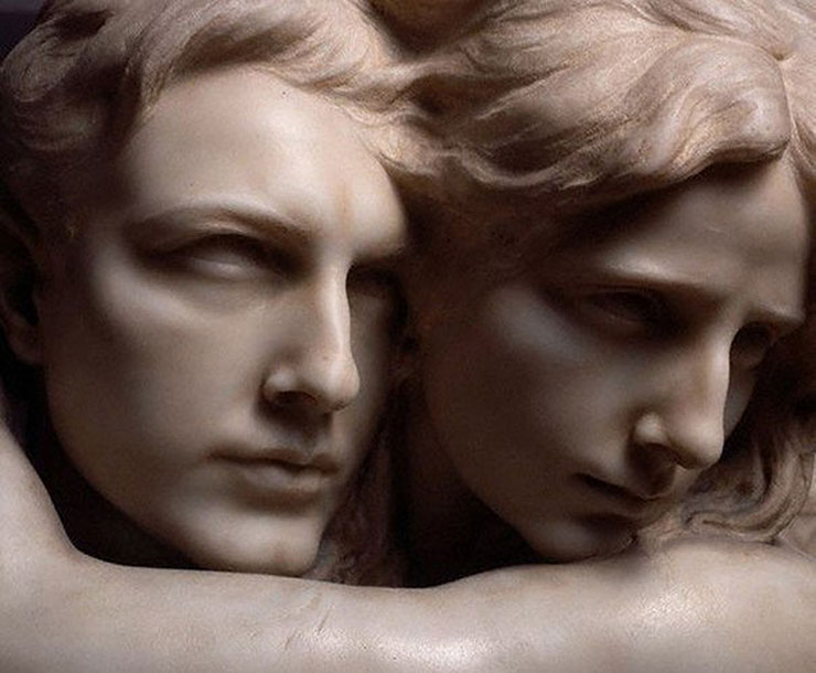 Любовный эквилибриум - Pietro Canonica. The Abyss, 1909